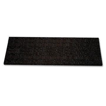 SAFEGUARD 楼梯防滑踏板,3mm玻璃钢,黑色,914×225×25mm(含安装配件),12092