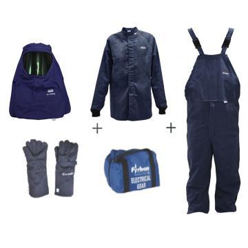 雷克兰AR48电弧防护服套装,XL,深蓝色