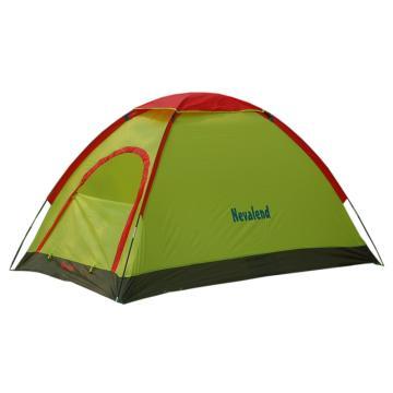 納瓦蘭德 雙人單層玻璃桿【鄉情有約】帳篷, 尺寸:200×140×110cm 果綠色 單位:個