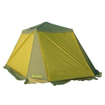 納瓦蘭德 自由飛翔-四人(韓國進口支架)自動帳篷, 尺寸:250*250*165CM 熒光綠 單位:個