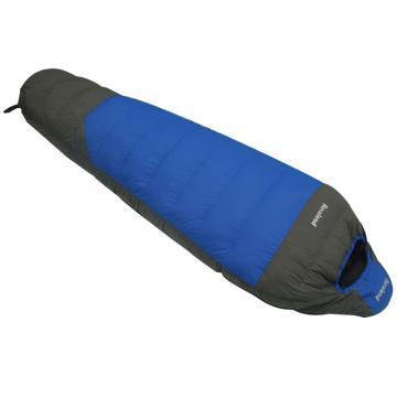 納瓦蘭德 信封羽絨睡袋,1500克零下28度~5度 藍配灰 單位:個