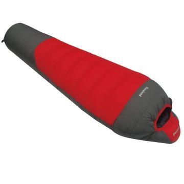 纳瓦兰德 羽绒睡袋,1500克零下25度~5度 红配灰 单位:个