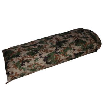 纳瓦兰德 迷彩信封羽绒睡袋,1500克加长加宽 90%白鸭绒 尺寸:230*90 零下28度~5度单位:个