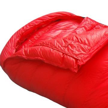 納瓦蘭德 信封羽絨睡袋,1500克加長加寬 零下25度~5度 紅色 尺寸:230*90 單位:個