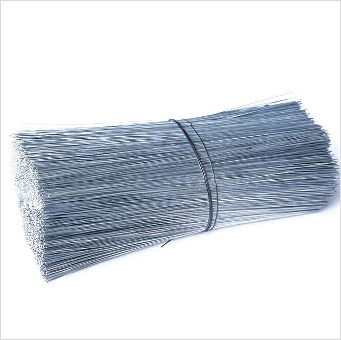 镀锌铁丝(俗称铅丝 绑丝 扎丝 钢筋绑扎丝) 22#  250mm, 大约10KG/捆, 一包9500根左右(中铁专用)