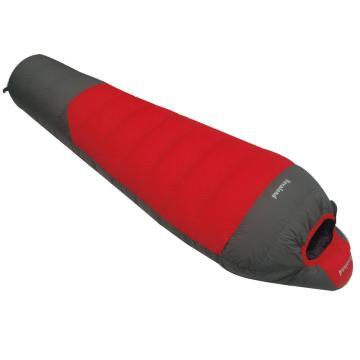 纳瓦兰德 羽绒睡袋,1100克 零下20度~10度红色配灰色 单位:个