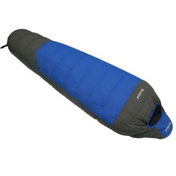 納瓦蘭德 羽絨睡袋,1100克 零下20度~10度藍色配灰色 單位:個