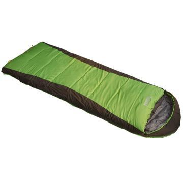纳瓦兰德 信封加长加宽380克睡袋, 果绿/灰色 规格:(190+30)*85CM零下12度~0度 单位:个