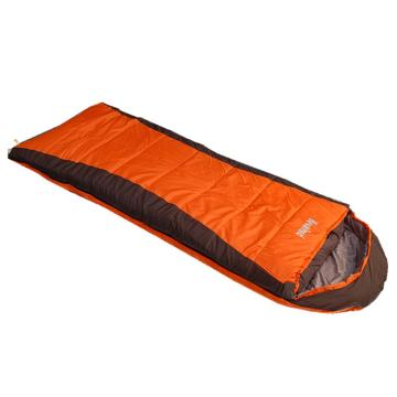 纳瓦兰德 信封加长加宽380克睡袋, 橘色/灰色 规格:(190+30)*85CM零下12度~0度 单位:个