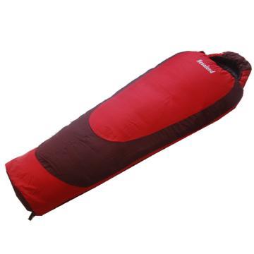 納瓦蘭德 媽咪300克中空棉睡袋,尺寸:215*80*55 紅色 零下10度~5度 單位:個