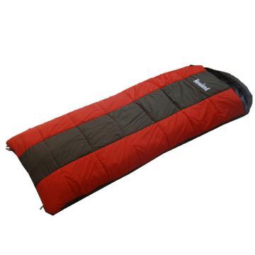 納瓦蘭德 信封380克中空棉睡袋,加長加寬尺寸:230*90cm 橘色 0℃~5℃ 單位:個