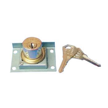 抽屉锁,规格:22.5MM