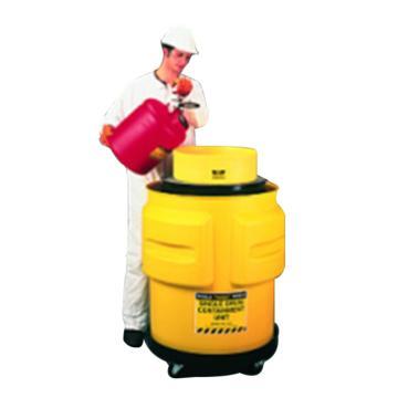 EAGLE 移动废液收集桶 带滑轮底座和油桶漏斗,承重450kg,1612(售完即止)