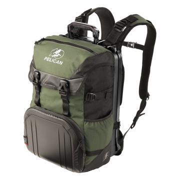 户外背包,绿黑灰色 470*330*254