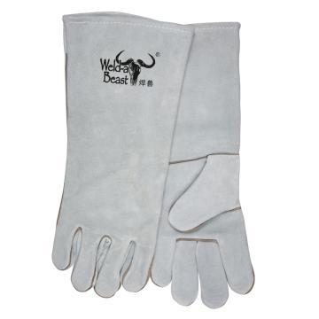 焊獸 焊接手套,4150-18-2,長45cm