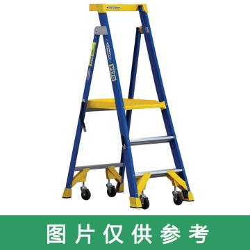 稳耐 单侧平台人字梯,踏板数:6 额定载荷(KG):170 工作高度(米):1.8,P170-6CN FG