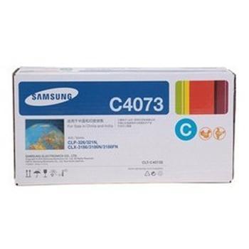 三星硒鼓, CLT-C4073S   青色 适用于CLP-328 326 321N CLX-3186/3185系列