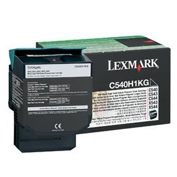 利盟墨粉, C540H1KG 高容量黑色(适用 C540n/C543dn/X543、C544dn/C544dw/X544、2500页)
