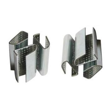 国产 塑钢带打包扣,材质:不锈钢,尺寸(mm):W16*T0.8,2000个/箱