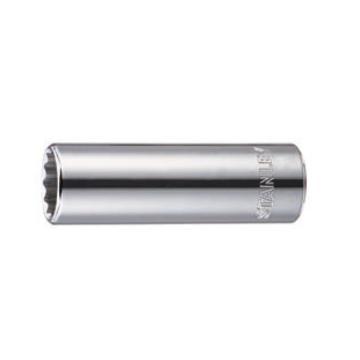 史丹利套筒,十二角 12.5mm系列公制加长型 24mm,96-375-1-22
