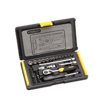 史丹利套筒套装,6.3mm系列公制35件套,94-691-22