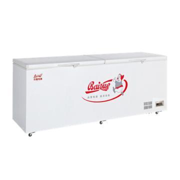 白雪 1026L顶开门转换型冷冻冷藏箱,BD/C-1026FD,超宽箱体,顶开式门体,自平衡铰链