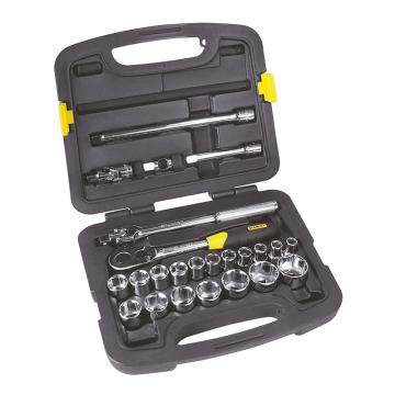 史丹利套筒套装,12.5mm系列公制24件套,91-939-22