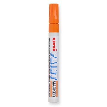 三菱 uni 记号笔 油性记号笔 PX-20 2.2-2.8mm (橙色)粗头  单支