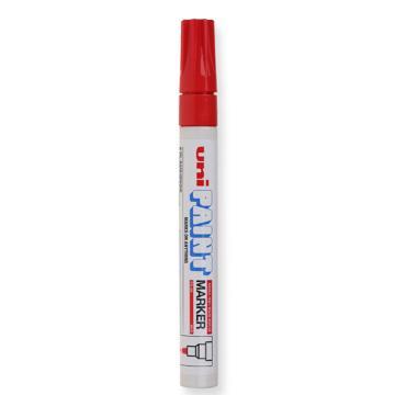 三菱 uni 记号笔 油性记号笔 PX-20 2.2-2.8mm (红色)粗头  单支