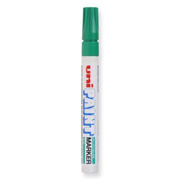 三菱 uni 记号笔 油性记号笔, PX-20 2.2-2.8mm (绿色) 粗头 单支