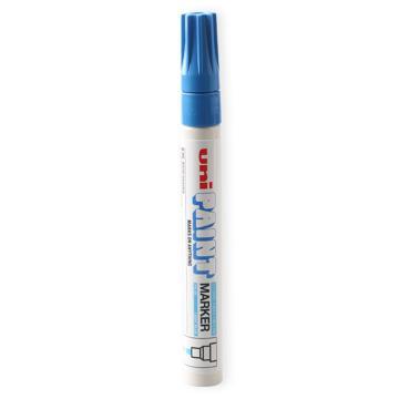 三菱 uni 记号笔 油性记号笔 PX-20 2.2-2.8mm (浅蓝) 粗头 单支