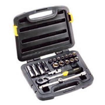 史丹利套筒套装,20件套12.5mm系列公制组套,94-186-22