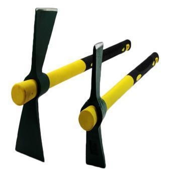 大号镐斧,长450mm 45#钢锻造,两头扁