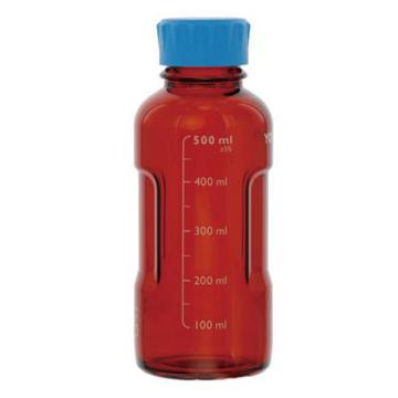YOUTILITY棕色蓝盖瓶,1000ml,4个/箱