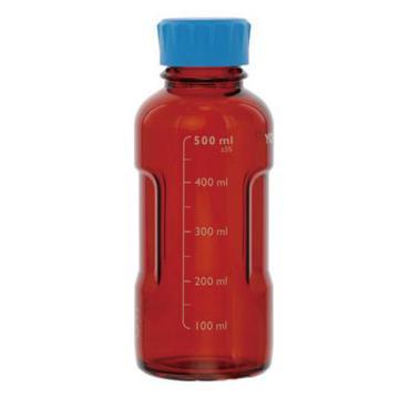 YOUTILITY棕色蓝盖瓶,125ml,4个/箱