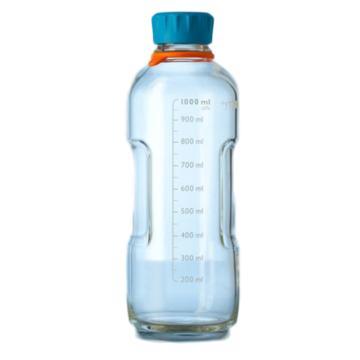 YOUTILITY蓝盖瓶,1000ml,1个