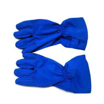 15.5cal防电弧手套,宝蓝色