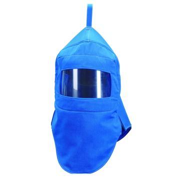 35cal防电弧头罩,宝蓝色
