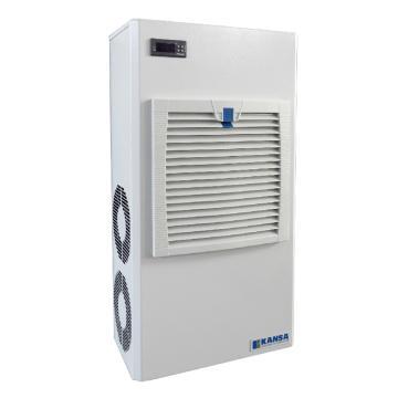 康赛 侧装式机柜空调,CAW-450,220V,制冷量450W,白色