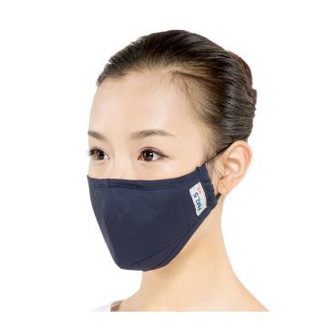 绿盾 防尘口罩,防雾霾 藏青 均码