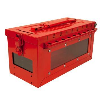玛斯特锁MasterLock 小号集群锁箱(空箱,带侧窗),246×124×138mm