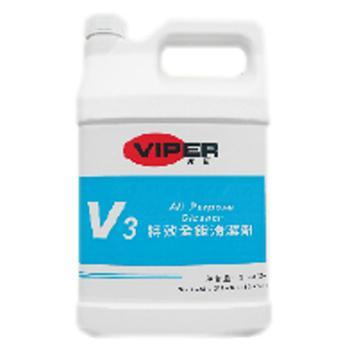 威霸V3特效全能清洁剂, 1加仑×4/箱 单位:箱