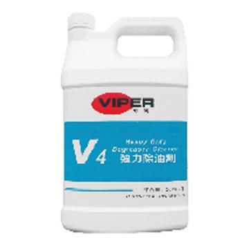 威霸V4强力除油剂, 1加仑×4/箱 单位:箱