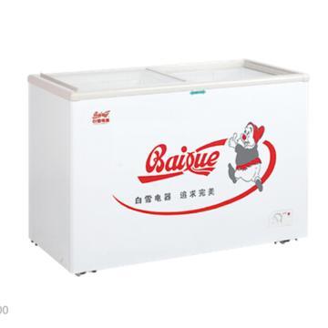 白雪 248L冷冻冷藏展示柜,SDX-248A,热反射镀膜平面钢化玻璃移门,带便携式门锁