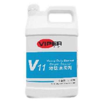 威霸V11地毯清洁剂, 1加仑×4/箱 单位:箱