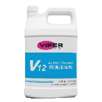 威霸V12顽渍清洁剂, 1加仑×4/箱 单位:箱