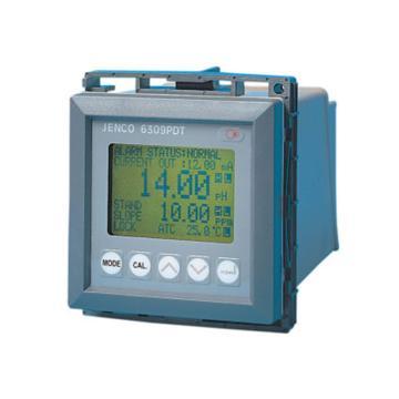 在线PH/溶解氧,JENCO,6309PDT(IP-600-10(20米),)
