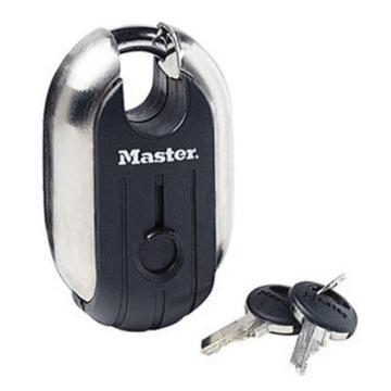 玛斯特锁MasterLock 钛合金安全挂锁,185D