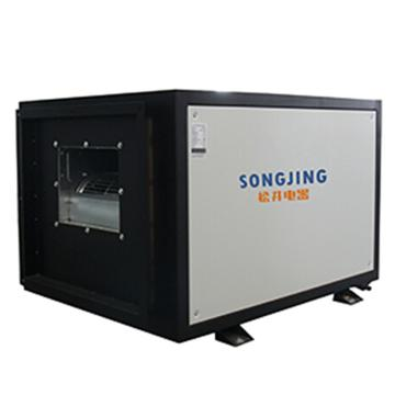 松井 吊顶式工业除湿机,SJD-480E,380V,除湿量480kg/D。不含安装及辅材。区域限售