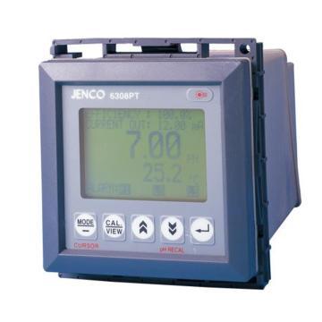 工业在线PH变送器,JENCO,6308 PT配IP-600-9TH(5米)